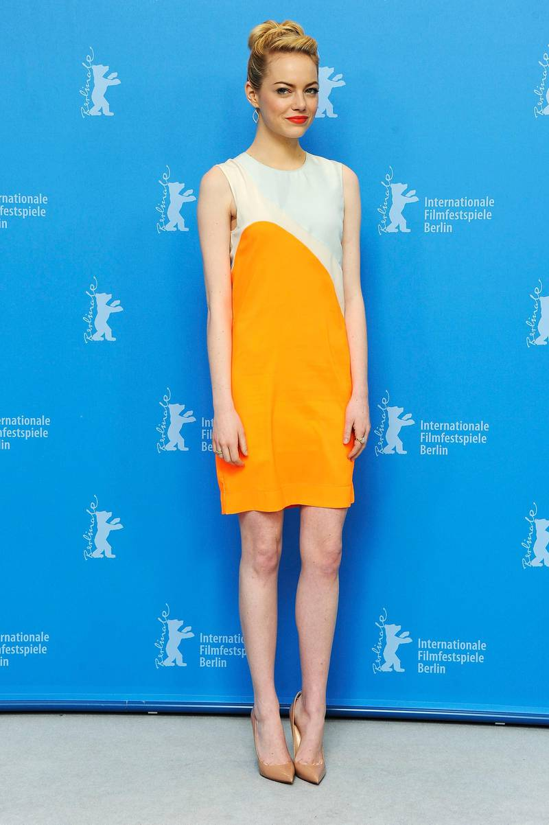 BERLIN, GERMANY - FEBRUARY 15:  Emma Stone attends the 'The Croods' Photocall during the 63rd Berlinale International Film Festival at the Grand Hyatt Hotel on February 15, 2013 in Berlin, Germany.  (Photo by Pascal Le Segretain/Getty Images)