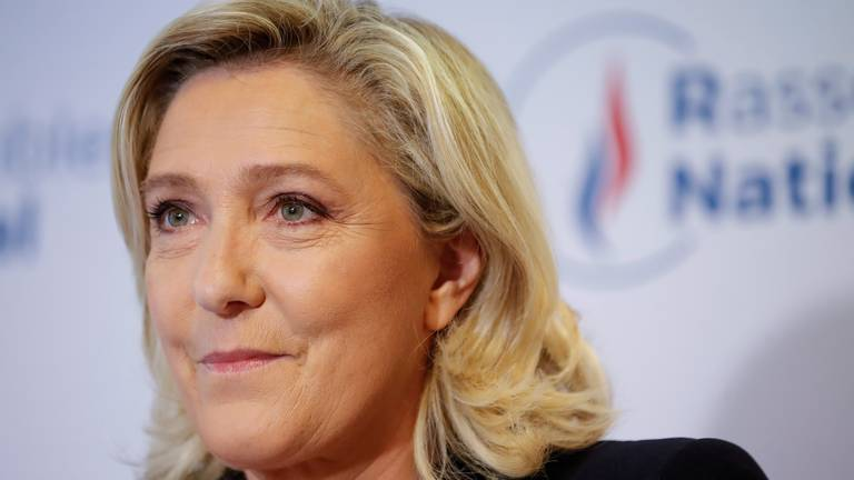 An image that illustrates this article France's Le Pen proposes referendum on immigration if elected president