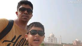 Father and son duo from Abu Dhabi 'really happy' to be part of record-breaking travel group