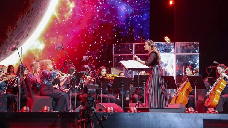 An image that illustrates this article AR Rahman's Firdaus Orchestra makes stellar debut at Expo 2020 Dubai
