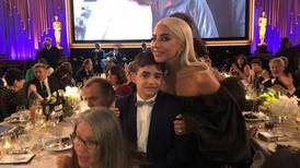 Young Syrian refugee actor meets Lady Gaga at Governors Awards