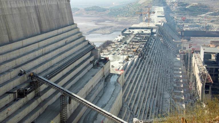 An image that illustrates this article El Sisi: Egypt seeks agreement on Ethiopia's dam 'as soon as possible'