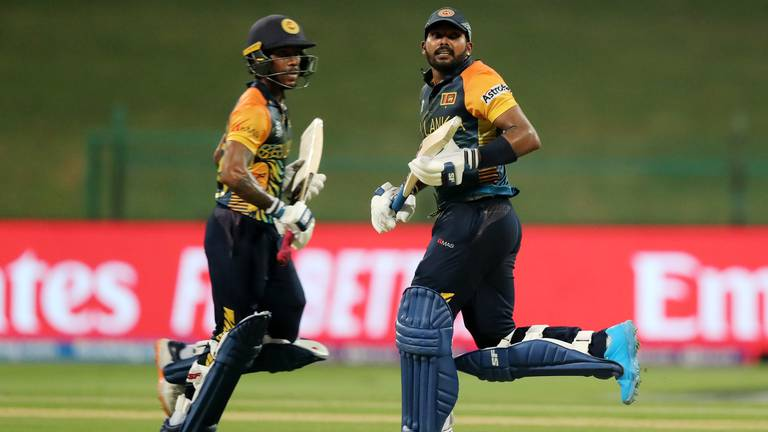 An image that illustrates this article T20 World Cup: Sri Lanka book their Super 12 spot after win over Ireland