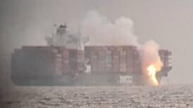 Canada: Toxic blaze on cargo ship 'Zim Kingston' spews gas