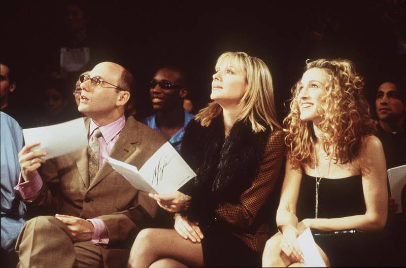 1998 Willie Garson, Sarah Jessica Parker and Kim Cattrall star in Sex in the City. Getty Images