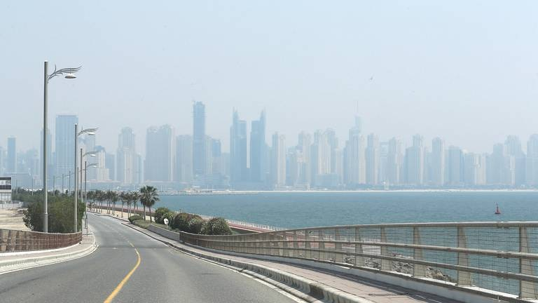 An image that illustrates this article UAE weather: fair and hazy, and cooling down