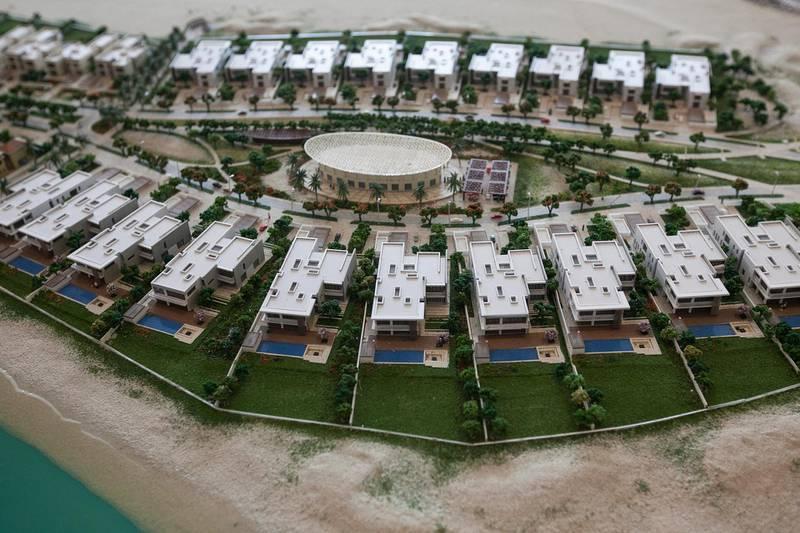Abu Dhabi, United Arab Emirates. March 16, 2015///HIDD Saadiyat Villas. Abu Dhabi, United Arab Emirates. Mona Al Marzooqi/ The National Reporter: Lucy Barnard Section: Business  *** Local Caption ***  150316-MM-Saadiyatvillas-005.JPG