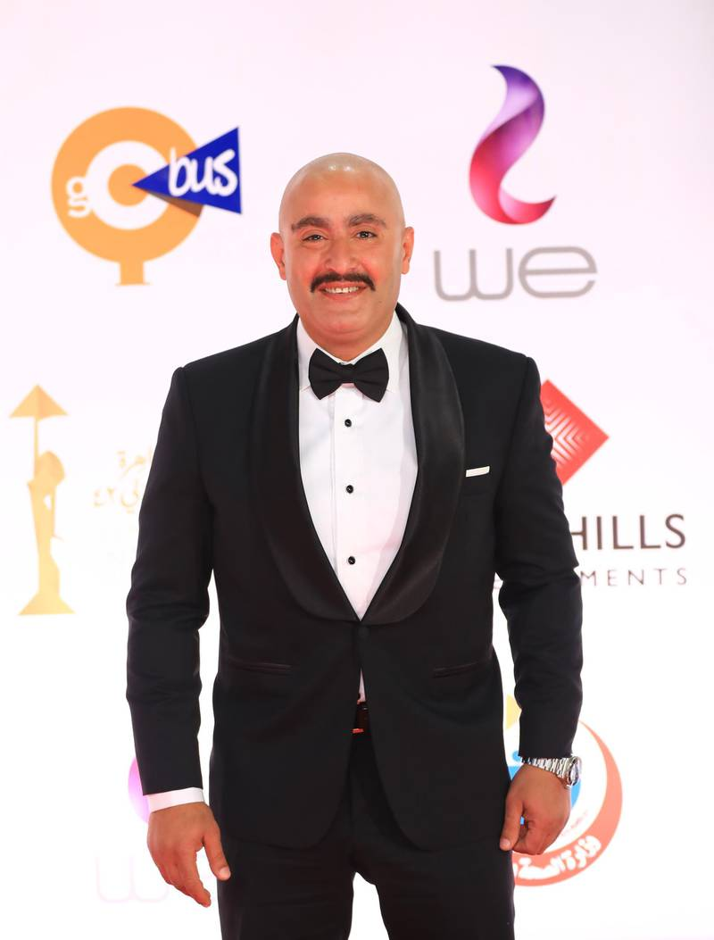 epa08858131 Actor Ahmed El Sakka attends the opening ceremony of the 42nd Cairo International Film Festival (CIFF), in Cairo, Egypt, 02 December 2020. According to the organizers, the 42nd edition of the CIFF running from 02 to 10 December, will feature 16 titles on their international premieres in Cairo.  EPA-EFE/MAHMOUD AHMED