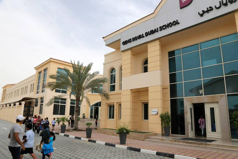 Dubai, United Arab Emirates - May 9, 2016.  The GEMS Royal Dubai School got an outstanding rating from the Knowledge Human Development Authority, as they have improved their educational system to the satisfaction of the KHDA inspectors team.  ( Jeffrey E Biteng / The National )  Editor's Note;  ID 26048 *** Local Caption ***  JB090516-Gems04.jpg