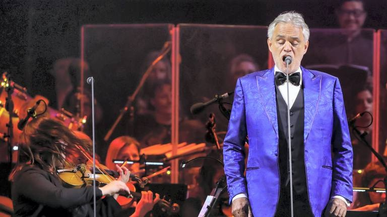 An image that illustrates this article Italian tenor Andrea Bocelli to perform in Dubai in November