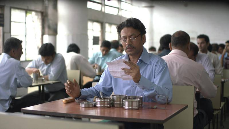 Still from the movie Lunchbox by Ritesh Batra starring actor Irrfan Khan.  CREDIT: Courtesy Sikhya Entertainment