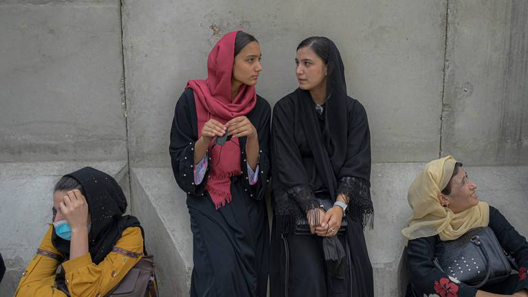 An image that illustrates this article Afghan rapper says women's education and careers at risk under Taliban