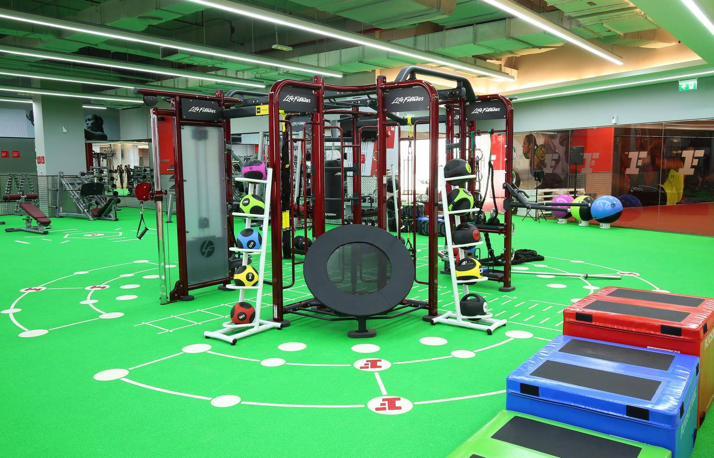 March 7, 2017 - Inside Fitness First gym. Courtesy Fitness First *** Local Caption ***  GB_13793.JPG