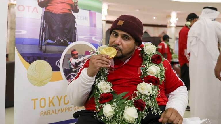 An image that illustrates this article UAE Paralympic gold medallist Al Aryani sets sights on Paris 2024