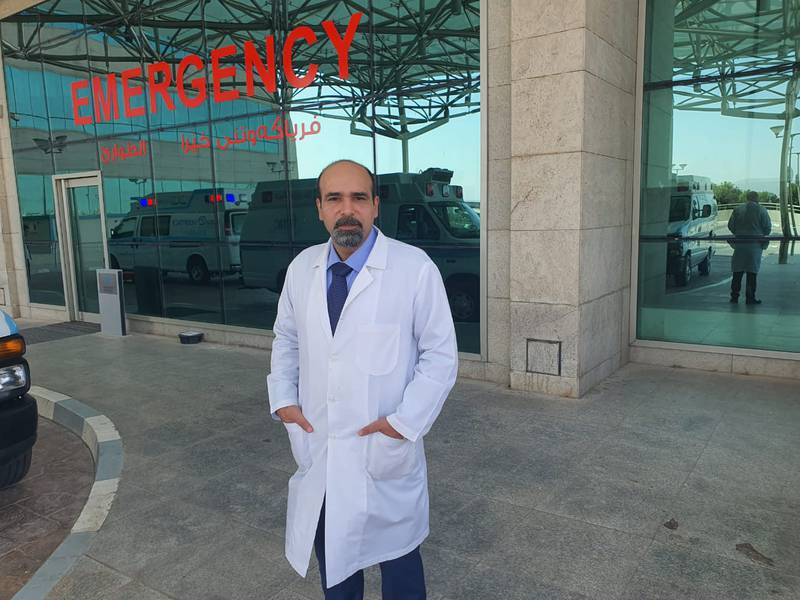Dr Ayman Obeid moved from Beirut to Sulaymaniyah three months ago.