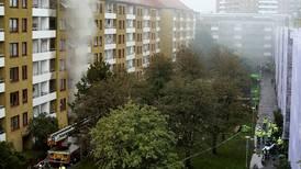 Manhunt for suspect in Gothenburg explosion