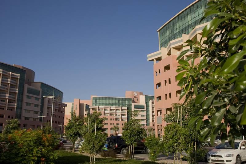 Stock images of Nakheel housing projects, The Gardens in Dubai, UAE, on November 26, 2009.