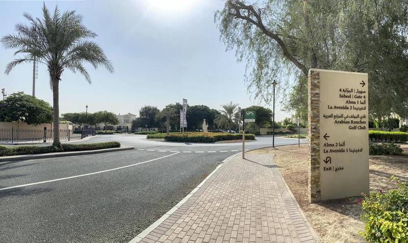 DUBAI UNITED ARAB EMIRATES. 17 NOVEMBER 2020.Community guide: Arabian Ranches . (Photo: Antonie Robertson/The National) Journalist: Sarwat Nasir. Section: National.