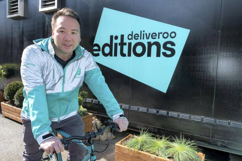 Will Shu, founder and chief executive of Deliveroo worldwide. Courtesy: Deliveroo
