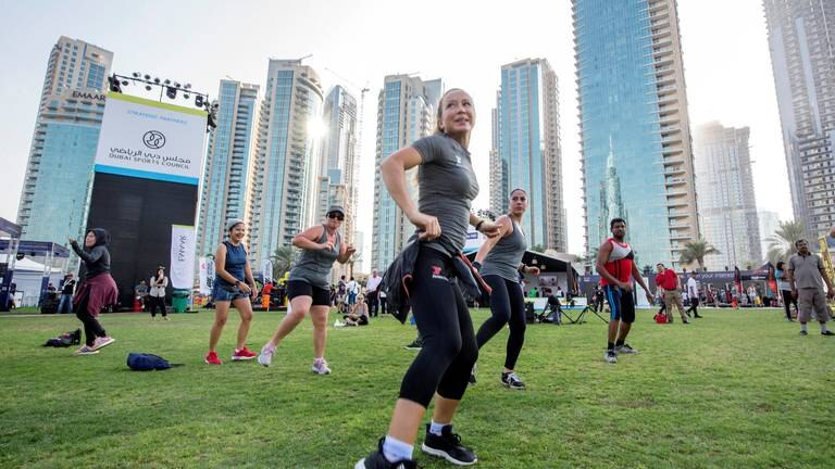 An image that illustrates this article A full guide to Dubai Fitness Challenge 2021