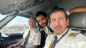 Emirati pilot led Etihad's flypast at Abu Dhabi GP