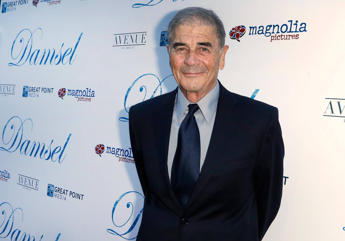 epa07914761 (FILE) - US actor and cast member Robert Forster arrives for the premiere of the film 'Damsel' at the ArcLight Theatre in Hollywood, California, USA, 13 June 2018 (reissued 12 October 2019). Oscar-nominated US actor Robert Forster died on 11 October 2019 at the age of 78, media reported on 12 October 2019.  EPA/PAUL BUCK *** Local Caption *** 54405702