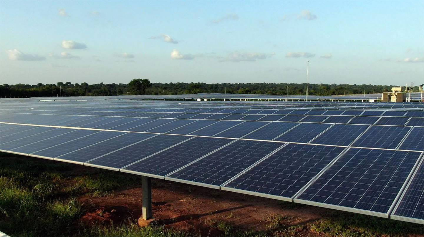 Abu Dhabi, 23 June 2021: The Mohamed Bin Zayed Solar PV Complex, one of the largest solar PV plant in West Africa financed by Abu Dhabi Fund for Development (ADFD) and selected under ADFD-IRENA Project Facility, is now fully operational. The 50-megawatt (MW) project in Blitta, Togo will supply reliable, clean electricity to hundreds of thousands of homes and businesses in the country to receive a sustainable supply of clean energy. Photo: Abu Dhabi Fund for Development