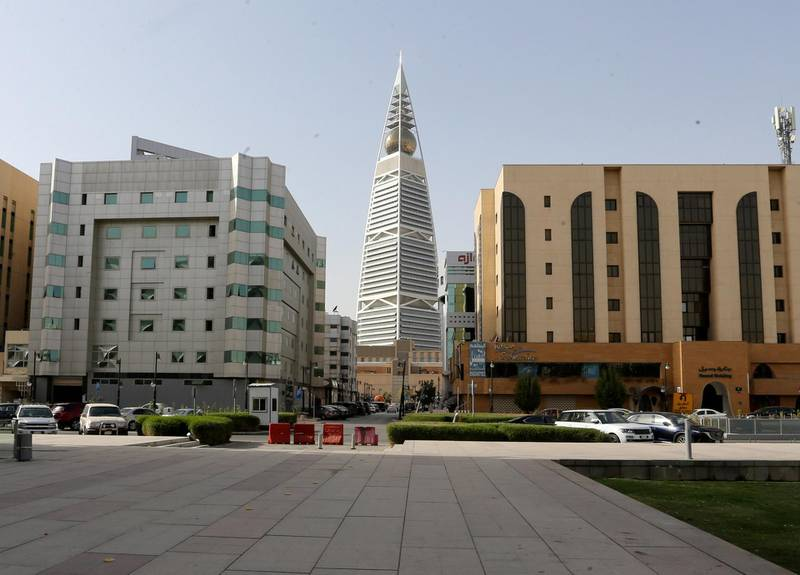 FILE PHOTO: General view shows the empty garden of the King Fahd Library, following the outbreak of coronavirus disease (COVID-19), in Riyadh, Saudi Arabia March 19, 2020. Picture taken March 19, 2020. REUTERS/Ahmed Yosri/File Photo