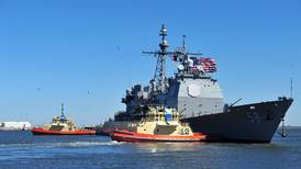 Covid-19 outbreaks aboard two US Navy warships in Middle East