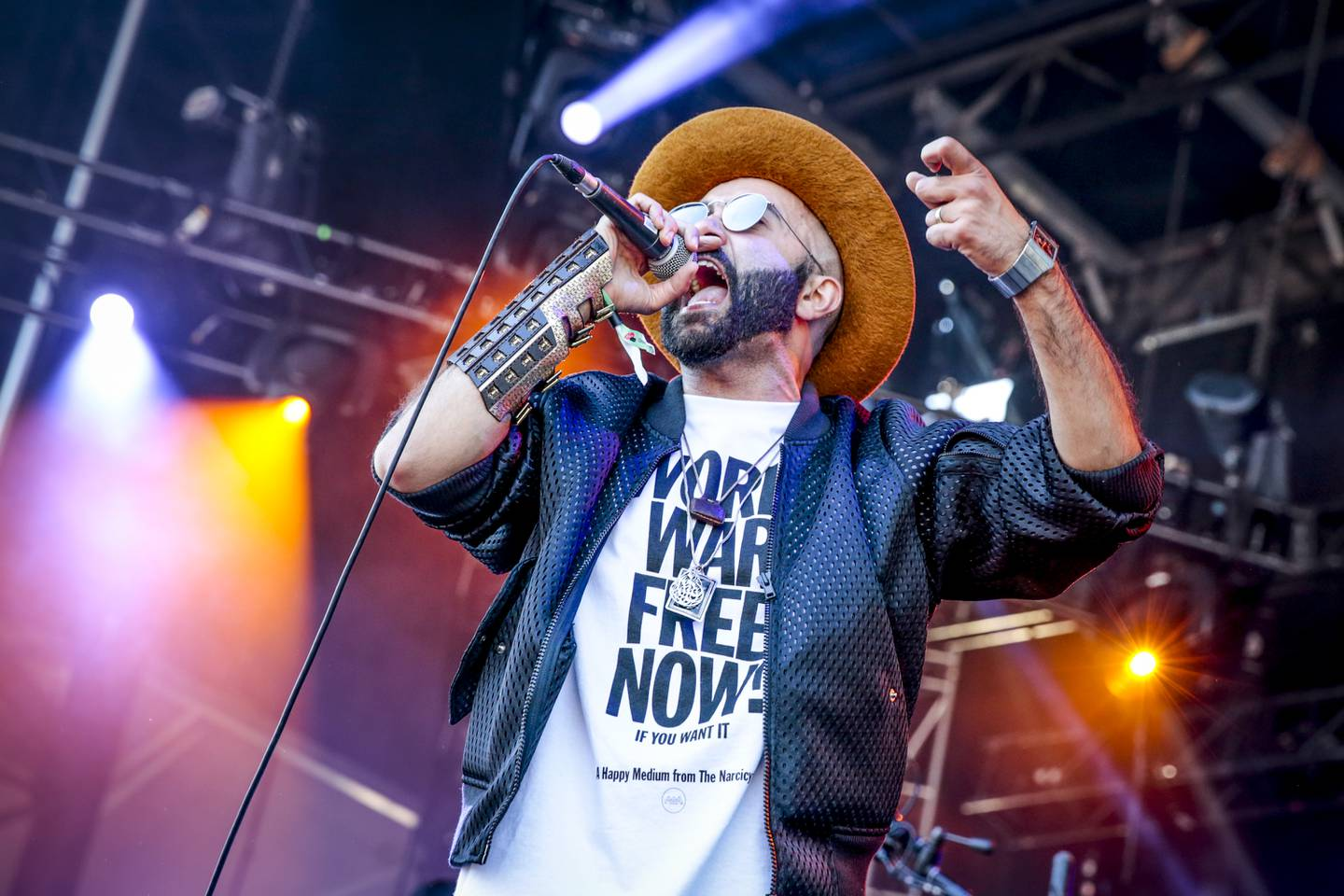 """MONTREAL, QC - AUGUST 01:  Narcy """"The Narcicyst"""" performs on Day 2 of the Osheaga Music and Art Festival on August 1, 2015 in Montreal, Canada.  (Photo by Mark Horton/WireImage) *** Local Caption ***  al05ju-music-narcicyst.jpg"""