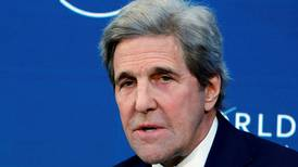 US special envoy John Kerry calls for 'warlike' effort to tackle climate change