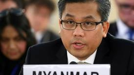 Exclusive: Myanmar's rogue UN ambassador vows to fight on after assassination plot