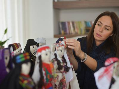 'Madeena the Doll' project to promote heritage in Jordan - in pictures