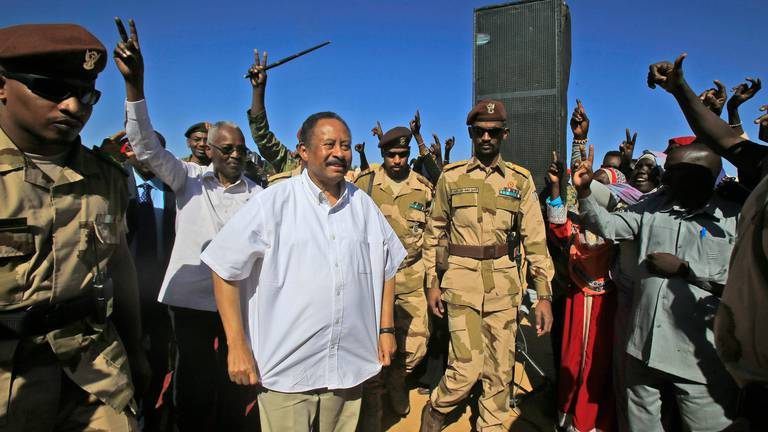 An image that illustrates this article Sudan's pro-democracy alliance renews commitment to democratic rule
