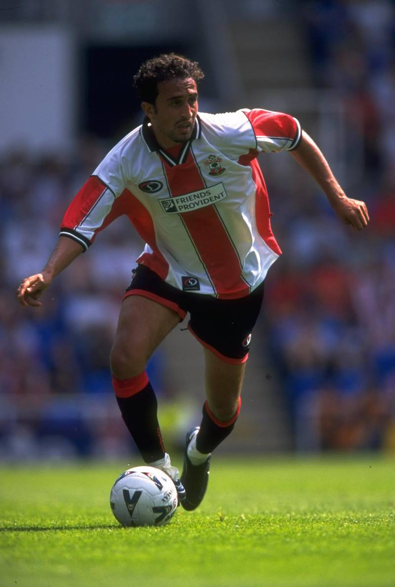 31 Jul 1999:  Hassan Kachloul of Southampton in action during the pre-season friendly match against Reading played at the Madjeski Stadium in Reading, England.  The match finished in a 3-0 win to Southampton. \ Mandatory Credit: Phil Cole /Allsport