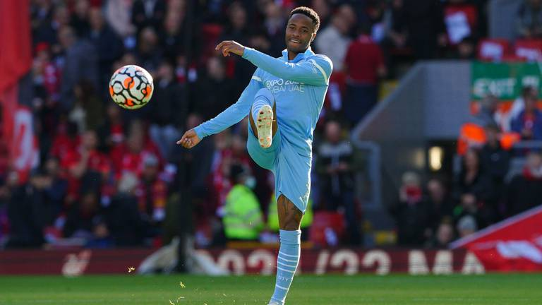 An image that illustrates this article Raheem Sterling 'open' to a move away from Manchester City