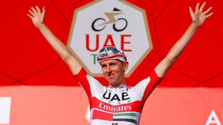 An image that illustrates this article UAE Tour set to kickstart 2022 UCI World Tour season