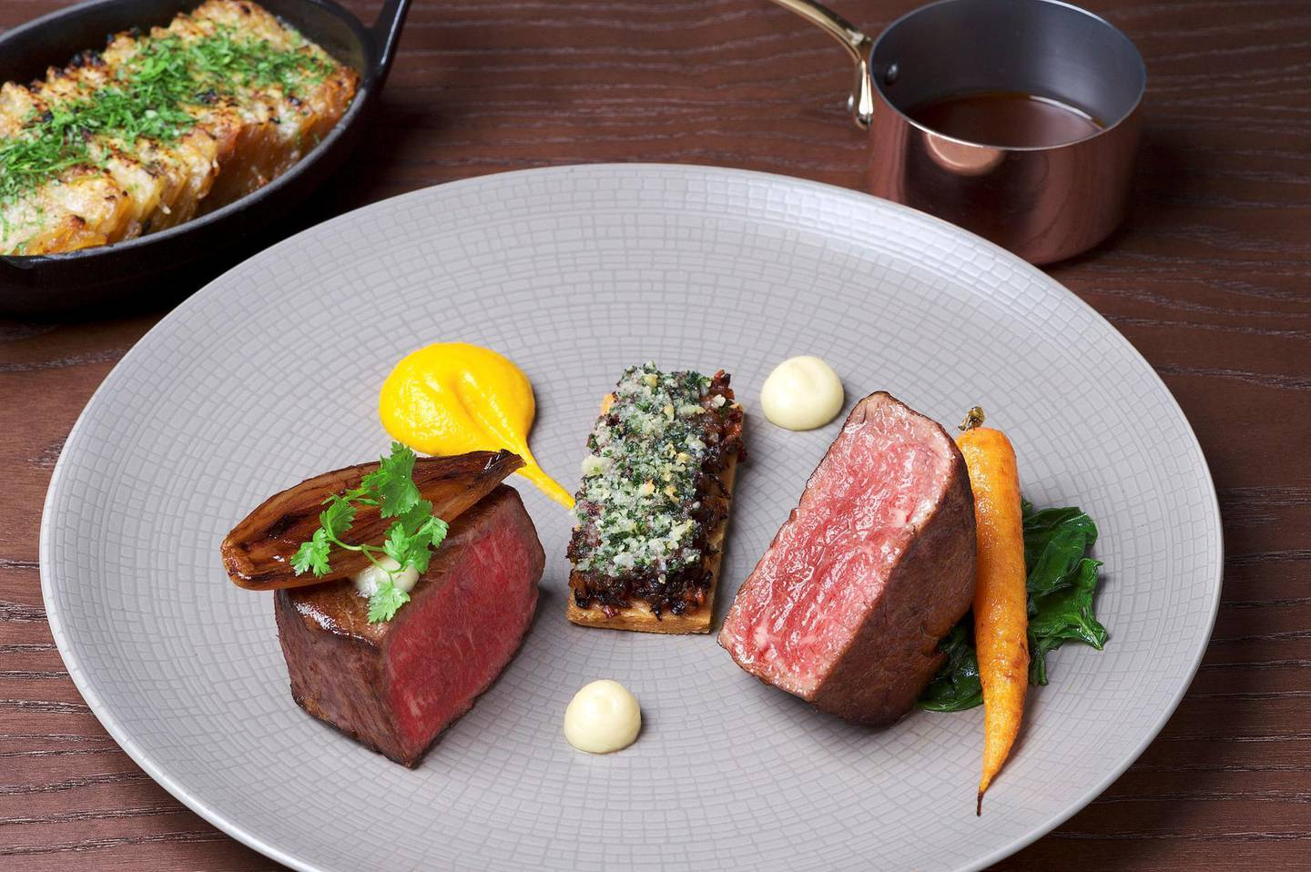 Beef tenderloin by Galvin Brothers. Courtesy Galvin Brothers