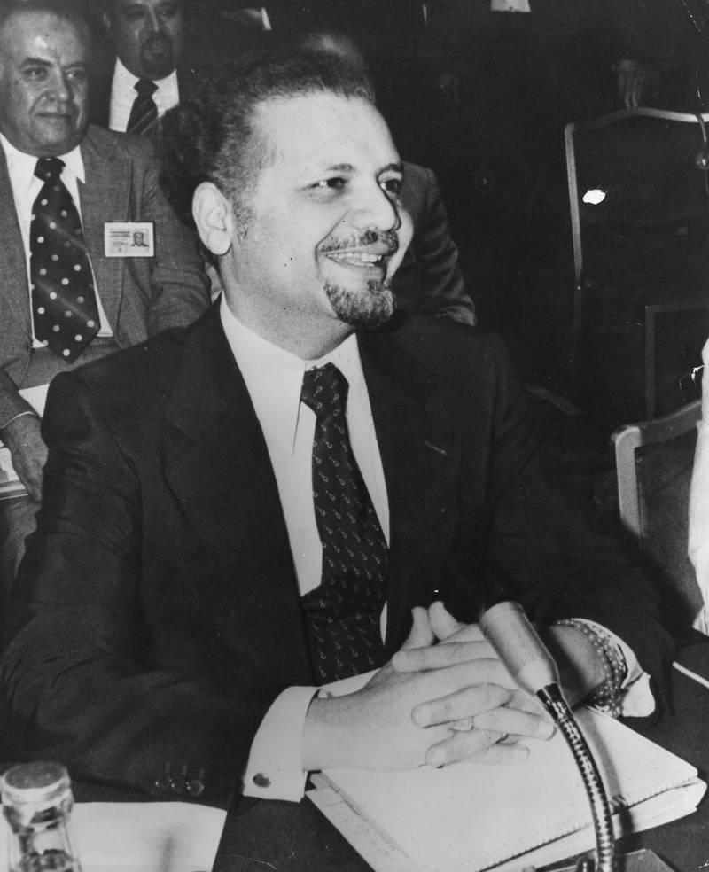 July 1979:  Saudi Arabian oil minister Sheik Ahmed Zaki Yamani.  (Photo by Keystone/Getty Images)