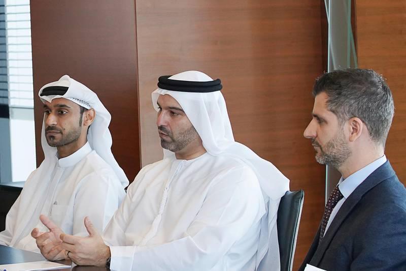 Marwan Lutfi, chief executive of Al Etihad Credit Bureau. Courtesy AECB