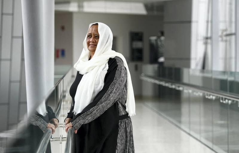 Abu Dhabi, United Arab Emirates - Professor of Food Science, Afaf Kamal Edin, originally from Sudan has been teaching online courses at United Arab Emirates University in Al Ain. Khushnum Bhandari for The National