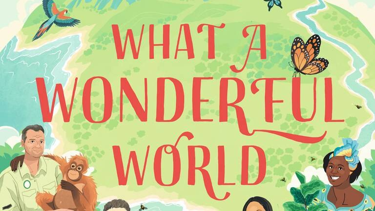 An image that illustrates this article 'What a Wonderful World': new book aims to inspire children to protect the planet