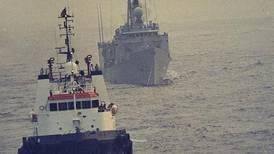 Time Frame: Mine holes USS Samuel B Roberts in Arabian Gulf