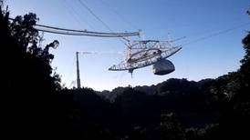Scientists lament collapse of giant Arecibo space telescope