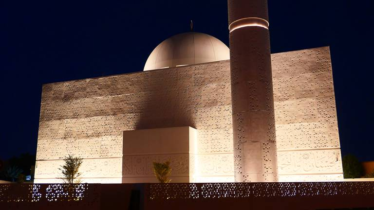 An image that illustrates this article The Mosque of Light shines bright in Dubai - in pictures