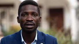 Ugandan opposition leader Bobi Wine arrested during protest