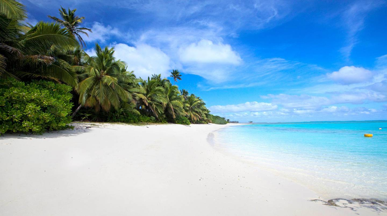 Direction Island beach, Cocos Keeling Islands, Western Australia, Australia, Indian Ocean. Getty Images