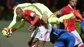 Luisao, a rare Benfica constant, tasked with halting a Dortmund attack out for revenge