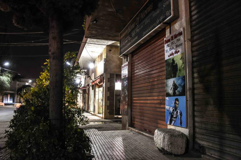 Baalbek, Lebanon, 10 October 2020. Mohammad Chamas was killed here, at his shop, Home of Movies, by a member of the Jaafar family 4 October 2020. Elizabeth Fitt for The National