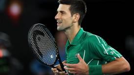 Novak Djokovic feels the 'pressure' after reaching Australian Open second round